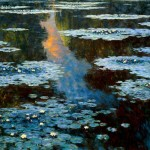 Ponds Jewels - Oil on Canvas
